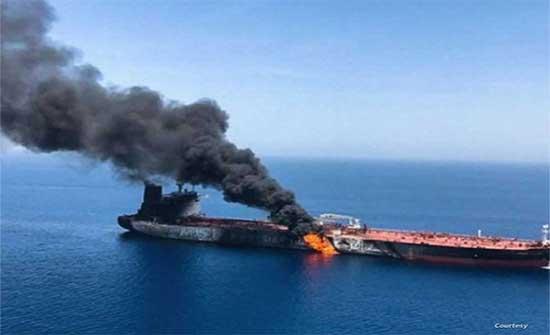 الاتحاد الاوروبي والناتو يدينان الهجوم على ناقلة النفط في بحر عمان