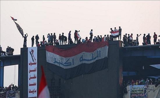 30 مصابا بمحاولة اقتحام مبنيي محافظتي كربلاء والبصرة جنوبي العراق