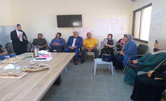 افتتاح دورة تمكين المرأة من تدوير المخلفات البيئية بالأغوار الشمالية