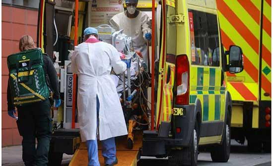 بريطانيا تسجل أعلى حصيلة إصابات منذ منتصف كانون الثاني الماضي