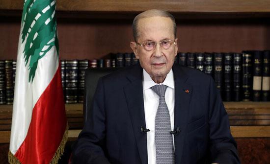 الرئيس اللبناني يبحث مع السفير السعودي تشكيل الحكومة