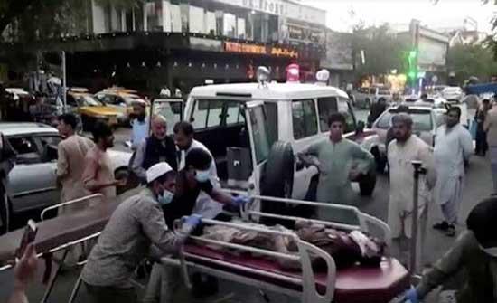"""""""طالبان"""" تعلن عن اعتقالات في مطار كابل على خلفية التفجيرات"""
