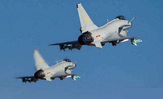 طائرات مقاتلة صينية عبرت المجال الجوي لتايوان
