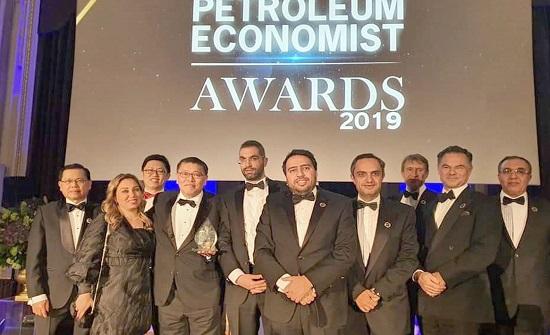 العطارات للطاقة تحصل على جائزة مشروع الطاقة لعام 2019