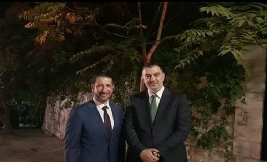 صلح بين وزير العمل والنائب القضاة