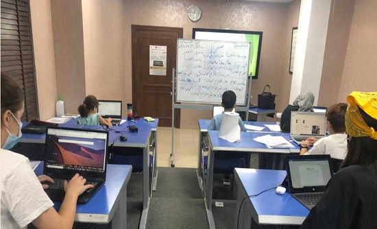 افتتاح برنامج المعلم الرقمي الصغير التدريبي لليافعين