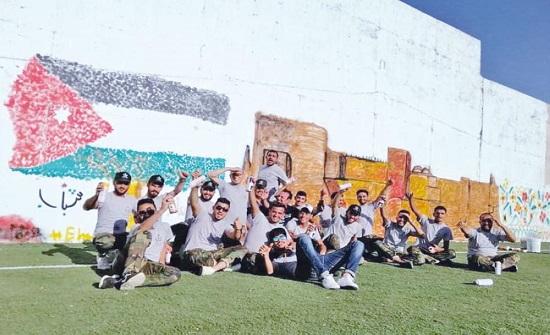 تواصل فعاليات معسكرات الحسين للعمل والبناء بالكرك