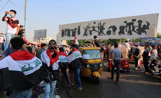 الحكومة العراقية تغلق 9 قنوات فضائية ساندت المظاهرات