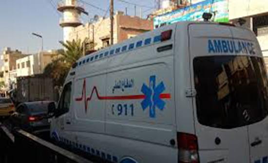 """إصابة 8 أشخاص اثر حادثي  """" تصادم"""" في عمان واربد"""