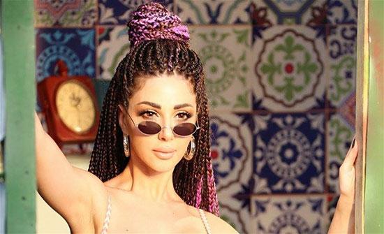"""بالفيديو .. فنانة لبنانية تهاجم ميريام فارس: """" ما تنسي الكعب يللي عملك"""""""