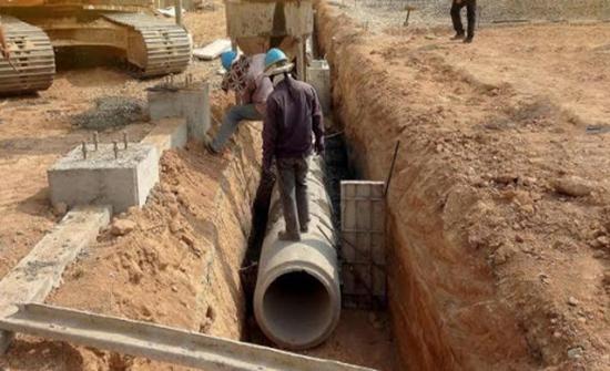 عجلون : مطالب بتنفيذ شبكة الصرف الصحي في الجنيد