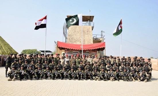 لأول مرة : تدريب عسكري يجمع قوات خاصة من الأردن ومصر وباكستان