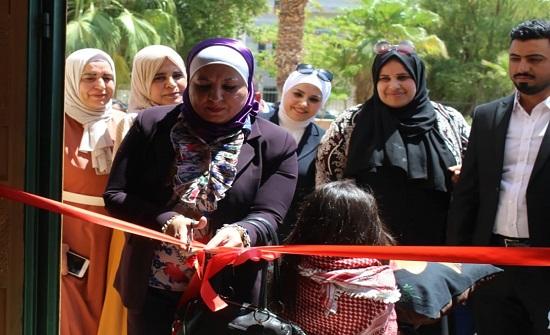 الأسرة النيابية تفتتح بازارا خيريا بالعقبة - صور