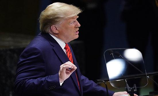 بالفيديو : من منبر الجمعية العامة.. ترامب يهاجم إيران ويتعهد بتشديد العقوبات ضدها