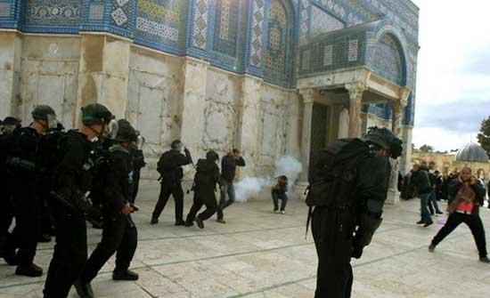 الاتحاد البرلماني العربي يدين اقتحام الشرطة الإسرائيلية للمسجد الأقصى