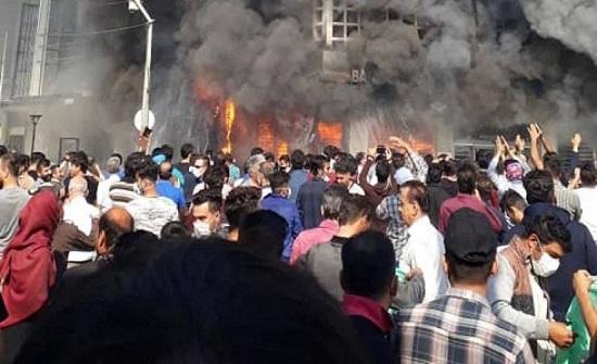 """احتجاجات في إيران.. """"إلى متى ستبقى أموالنا تذهب إلى جيوب غزة ولبنان؟""""!"""