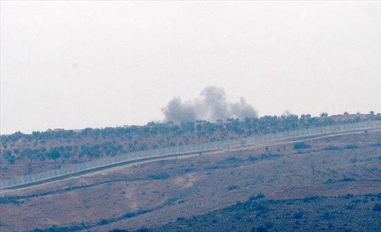 """المدفعية التركية تواصل قصف مواقع عسكرية لإرهابيي """"ب ي د"""" في عفرين"""