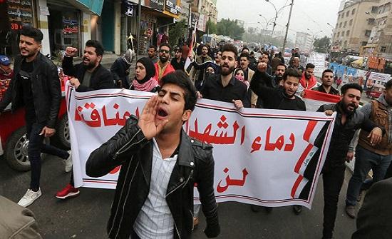مجزرة الرصاص المجهول.. تفاصيل الهجوم على متظاهري بغداد