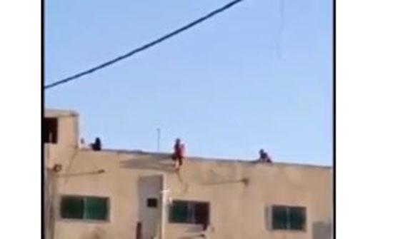 بالفيديو : محاولة انتحار فتاة في اربد