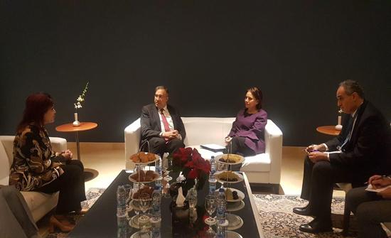 زواتي تلتقي وزراء الكهرباء المشاركين في مؤتمر الاتحاد العربي للكهرباء