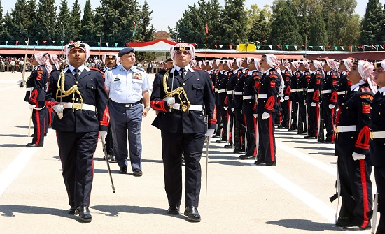 الأمير فيصل يرعى حفل تخريج الفوج 30 من تلاميذ جامعة مؤتة