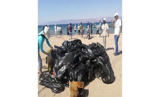 """""""البيئة البحرية"""" تطلق حملة نظفوا العالم لعام 2019 في العقبة"""
