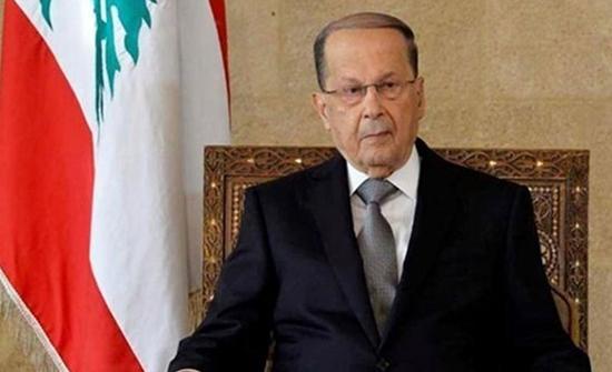 الرئيس اللبناني: اسرائيل خرجت عن قواعد الاشتباك باعتدائها الاخير