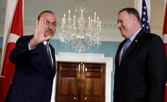 بومبيو وتشاووش أوغلو يبحثان الوضع في شمال شرق سوريا
