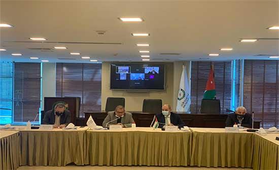 وزير العمل وتجارة الاردن يبحثان ملفات للقطاع التجاري