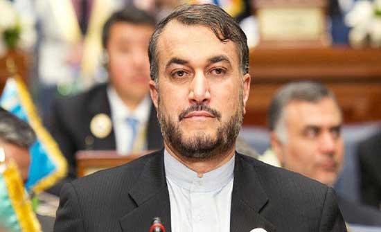 وزير الخارجية الإيراني: ننظر للمفاوضات بشكل إيجابي