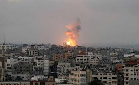 شهيدان في انفجار داخل أحد مواقع المقاومة وسط قطاع غزة