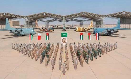 """الاردن يختتم فعاليات التمرين الجوي """"طويق 2"""" في السعودية"""