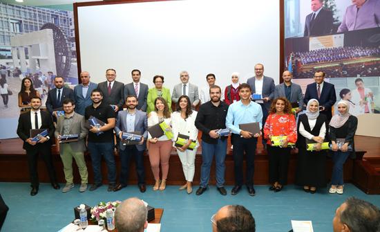 الجامعة الألمانية الأردنية تكرم المتميزين