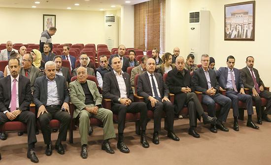 العضايلة يرعى حفل توزيع جوائز مسابقة صنع في الأردن