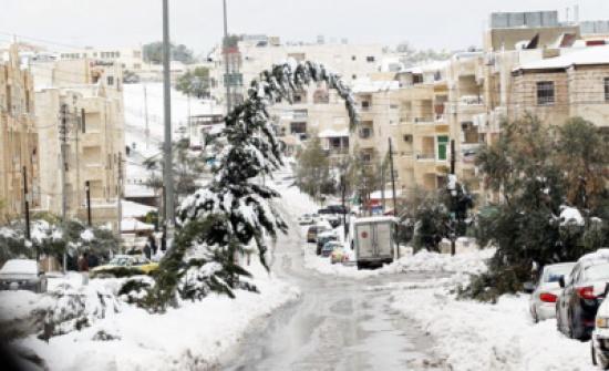 الخميس : سقوط زخات من الثلوج فوق المرتفعات الجبلية