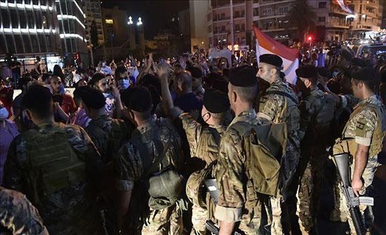 لبنان.. إصابات مواجهات المحتجين والأمن بطرابلس ترتفع لـ85