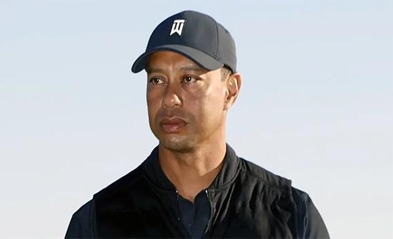 تعرض نجم الغولف الأميركي تايغر وودز لحادث خطير.. شاهد