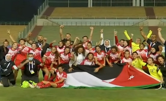 النشميات يتوّجن بكأس العرب على حساب تونس
