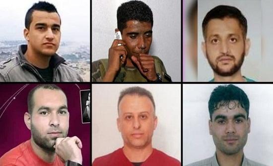 نيابة الاحتلال تُقدم لائحة اتهام بحق الأسرى الستة المعاد اعتقالهم