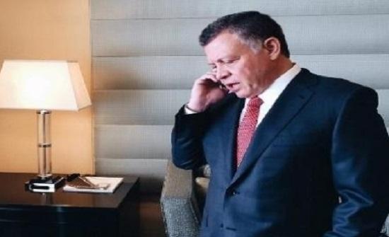 الملك  : الاردن يرفض اي انتقاص لسيادة سوريا
