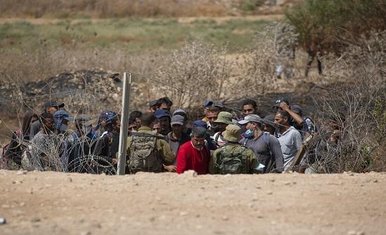 جيش الاحتلال  يعزز من تواجده على حدود الأردن