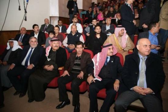 جامعة الزرقاء تشارك في احتفال محافظ الزرقاء بعيد ميلاد القائد