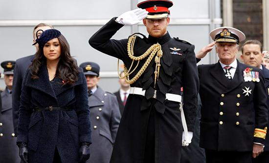 بالصور : أول لقاء بين هاري ووليام وزوجتيهما بعد الكشف عن خلافاتهم