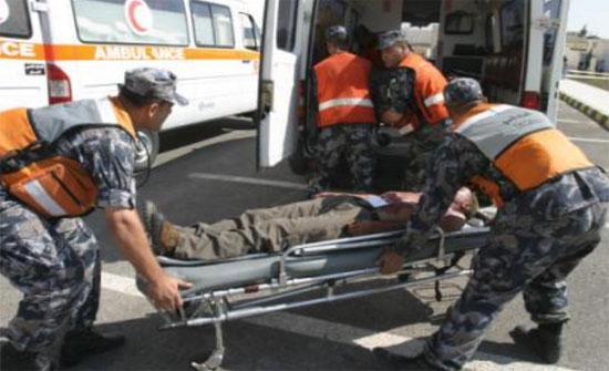 11 اصابة بحادثي تصادم في عمان
