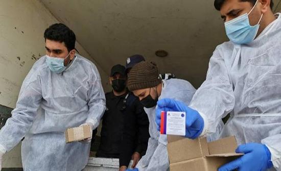 انطلاق حملة التطعيم ضد فيروس كورونا في قطاع غزة