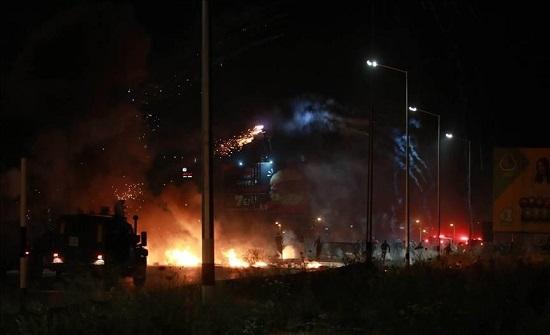 اختناق فلسطينيين خلال اقتحام للجيش الإسرائيلي شرقي نابلس