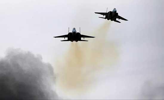جيش الإحتلال : هاجمنا موقعا لإنتاج الأسلحة تابع لحماس ومنصة لإطلاق الصواريخ