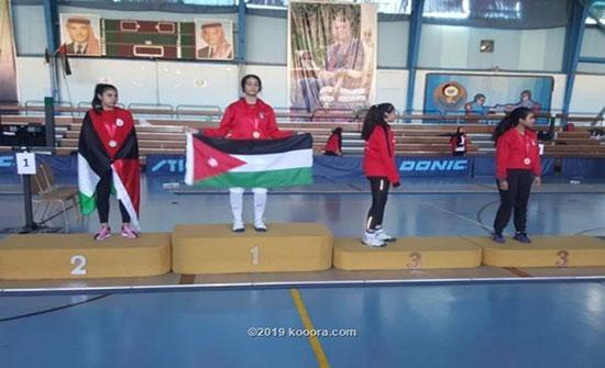 3 ميداليات للأردن في الدوري الآسيوي للمبارزة