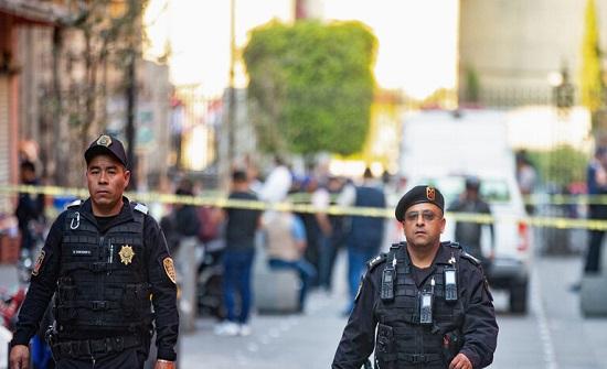 مصرع 4 أشخاص بإطلاق نار أمام القصر الرئاسي بالمكسيك