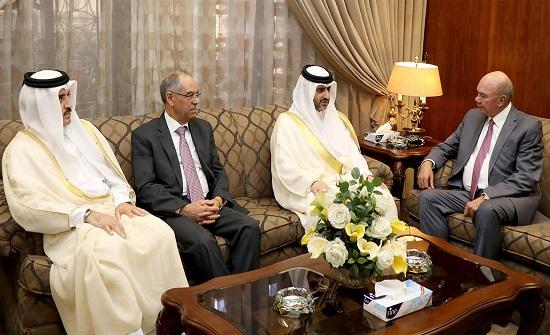 الفايز يلتقي رئيس ديوان المحاسبة القطري